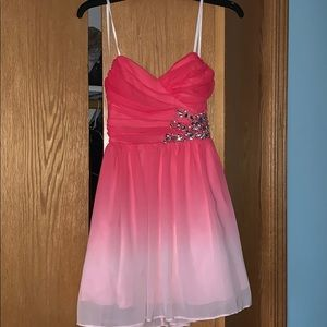 B. Darlin Pink Dress only worn once!!